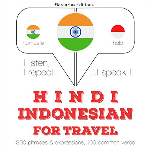 Hindi - Indonesian. For travel cover art