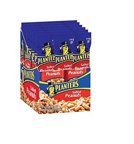 Planters Peanuts (Pack of 18)