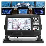 MINGMIN-DZ GPS Marino 7in LCD Marina GPS Localizador con Cuadro de Plotter de navegador para Barcos de Pesca de Yates Unidades de GPS Marinas y plotters