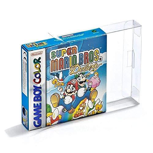 Link-e : 10 X Custodia protettiva in plastica trasparente per Nintendo Gameboy, Color, Advance (GB, GBC, GBA)
