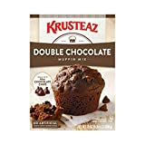 Rich flavor: Decadent, double-the-chocolatey goodness the whole family will enjoy! Made with quality ingredients: This mix combines chocolate chips and cocoa in a fluffy and delectable treat — Contains wheat, milk and soy, and may also contain eggs a...