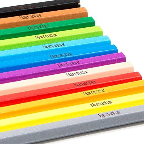 Faber Castell Buntstifte mit Namen - individuell graviert - personalisiert