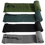 GUGULUZA Socken für Gewehre,Silikon Öl behandelt Knit Fabric Shotgun Gewehr Storage Gun Socke 132 cm (Mehrfache Farben)