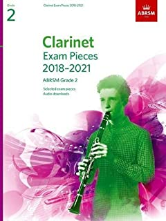 Clarinet Exam Pieces 2018-2021, ABRSM Grade 2: Selected from the 2018-2021 syllabus. Score & Part, Audio Downloads (ABRSM Exam Pieces)