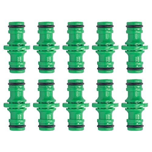 SSINI 10 Packungen Wasserschlauchverbinder für Gartenbewässerung, Schnellverbinder,...