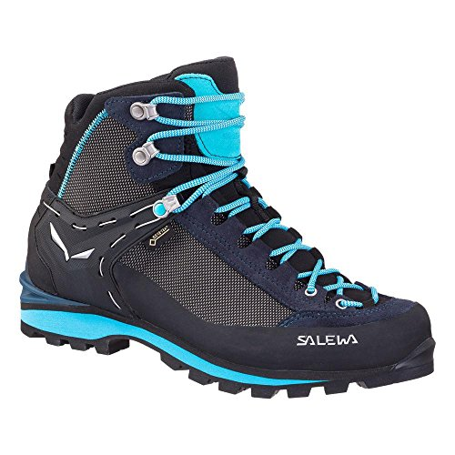 Salewa Damen WS Crow Gore-Tex Trekking-& Wanderstiefel, Premium Navy/Ethernal Blue, 39 EU
