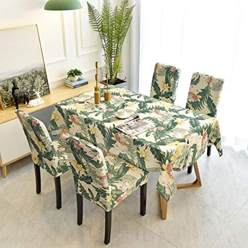 LSSM Mantel Personalizado para Silla, Mantel De Arte, Mantel De Té, Mantel Antimanchas Negro Mantel De Plastico Negro Mantel Lino Negro Mantel Desechable Verde 130 * 200Cm
