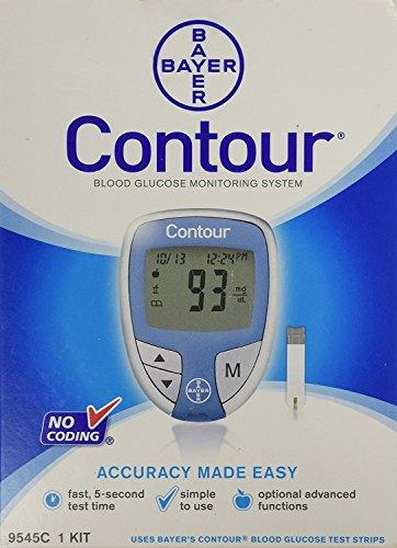 Image of Bayer Contour Blood Glucose...: Bestviewsreviews