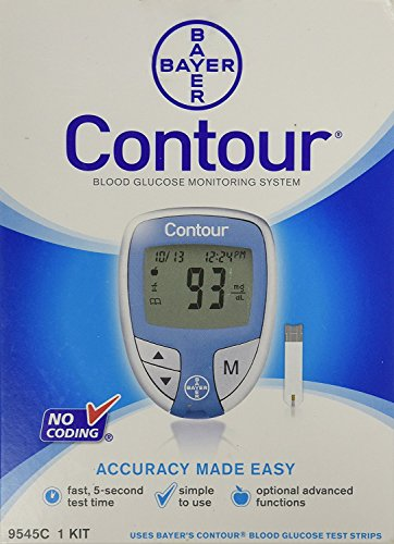 buy  Bayer Contour Blood Glucose Meter system [ New ... Blood Glucose Monitors