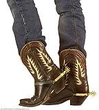 WIDMANN-8518s Speroni da Cowboy Adulto Unisex, Oro, One Size, 8518S