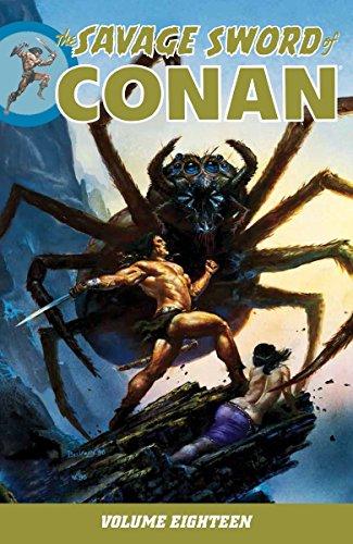 Savage Sword of Conan Volume 18