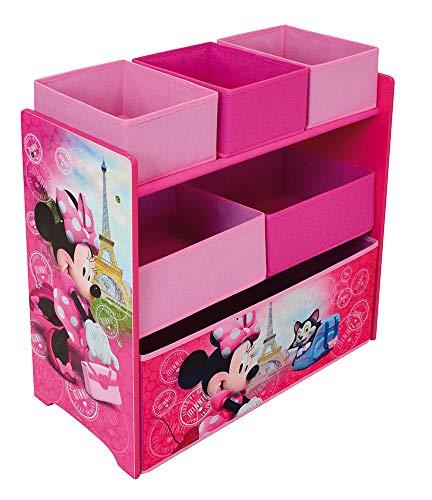 Fun House Disney Minnie 713219 - Scaffale con 6 vani per bambini, PM