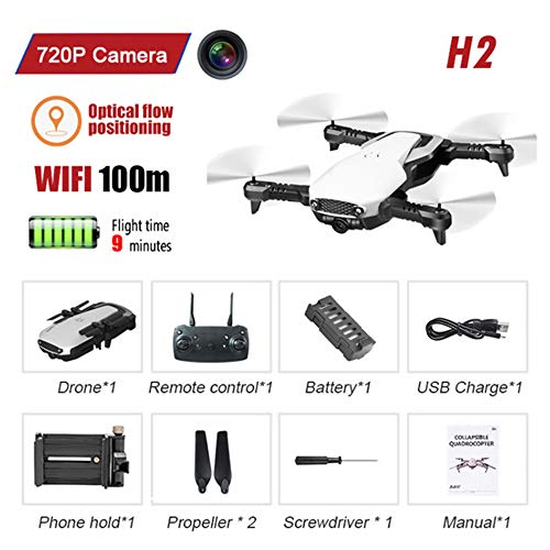 FPV WIFI 720P Camera Drone, Met Camera HD RC Helicopter Helicopter Selfie Drone Professionele Drone Speelgoed Voor 14 Jaar Oude Kinderen,2
