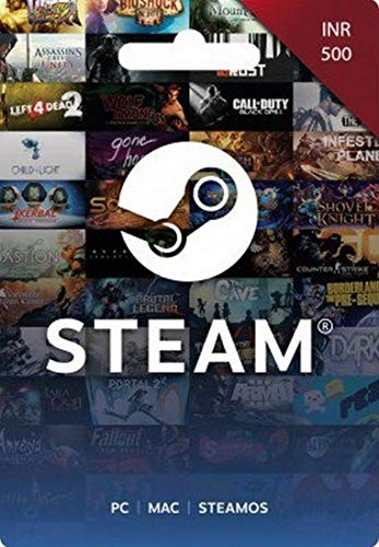 INR 500 Steam Wallet Code (Digital Code- Email Delivery within 2 hours)