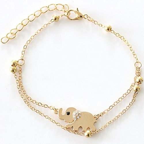 New Summer Elephant Women Ankle Chain Anklet Bracelet Foot Sandal Barefoot Beach, Anklet, Products for Christmas