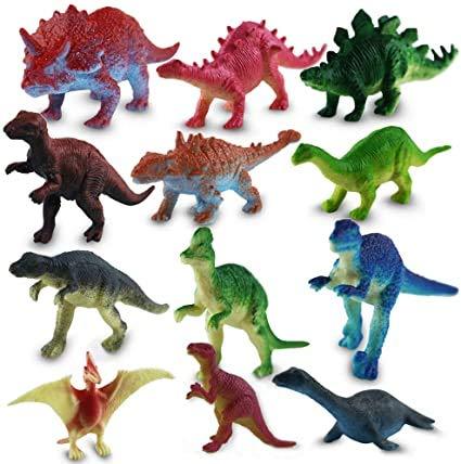 Stuwu -  24x Dinosaurier
