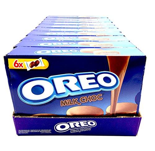 OREO MILK CHOC biscotto cacao con ripieno alla vaniglia ricoperto di cioccolato a latte (10 x 246g)