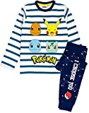 Pokemon Pijamas Pikachu Personajes Niños Rayas T Shirt & Pantalones Pijamas 9-10 años