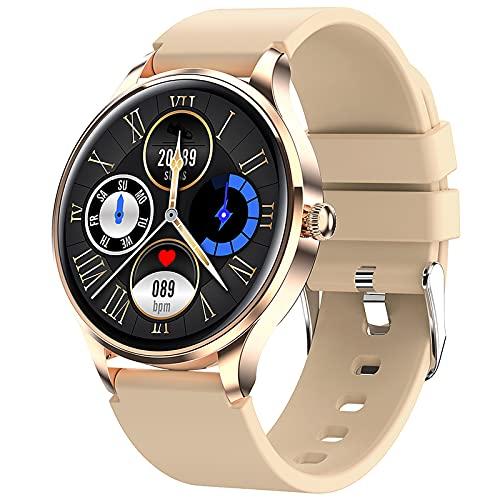 Aibabely Reloj inteligente de 1.1 pulgadas IP68 impermeable inteligente reloj deportivo actividad fitness reloj inteligente pulsera inteligente