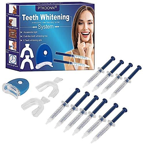 Teeth Whitening Kit,Teeth Whitening Light,Teeth Whitening Accelerator Light,Kit Tooth...