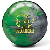 Brunswick Rhino Bowling Ball, Green/Silver, 10 lb