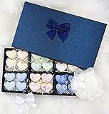 Fundants de cera perfumada hecha a mano para quemador vela caliente – Caja idea regalo 4 x 6 fragancias con aroma de sueño para una nueva forma de perfumar tu hogar.