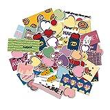 XIAMU Coreano Lindo Ins Amor corazón Cereza Pegatinas Scrapbooking Pegatina Decorativa DIY Diario álbum Etiqueta60 Piezas