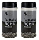 Dalmatian Seasoning and Rub, A coarse salt and pepper BBQ dry rub for both smoking briskets,...