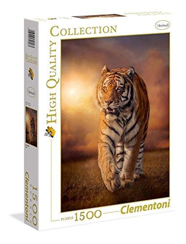 Clementoni 31806 Tiger – Puzzle 1500 Teile, High Quality Collection, Geschicklichkeitsspiel für die ganze Familie, Erwachsenenpuzzle ab 14 Jahren