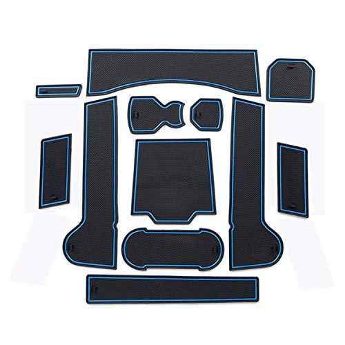 LFOTPP T-Roc Slot Pad Alfombra Goma Car Styling Interior