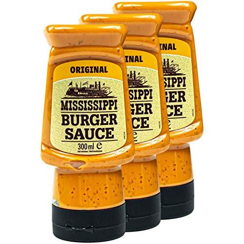 Mississippi - 3er Set Burger Sauce