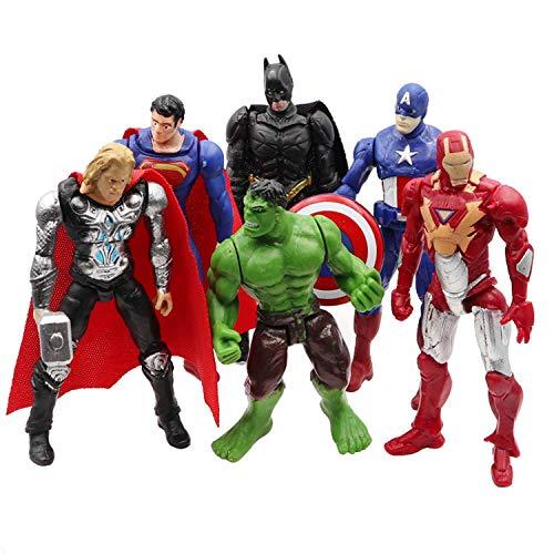 Superhero Action Figures Set of ...