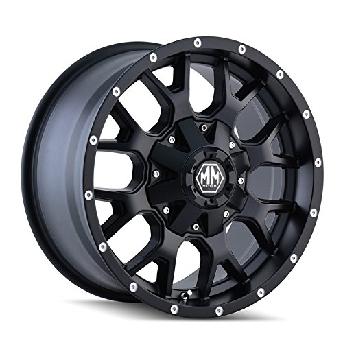 Mayhem Warrior 8015 Wheel with Matte Black Finish (18x9'/10x114.3mm)