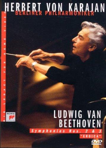 """Karajan : Ludwig Van Beethoven - Symphonies N° 2 & 3 """"Eroica"""""""