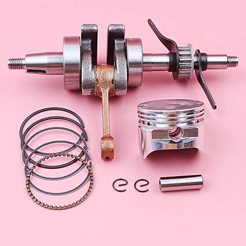 HAOHAO Kurbelwelle 39 mm Kolbenbolzen Ring Sicherungsring Kit für Honda GX35 GX 35 4-Takt-Rasenmäher kleiner Gasmotor Motor Teil