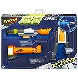 Hasbro Nerf B1537EU4 - N-Strike Elite Modulus Zubehör-Set Weitschuss, Nerf Zubehör