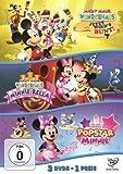Micky Maus Wunderhaus Jetzt wird's bunt! / Minnie-Rella / Popstar Minnie (3 DVDs)