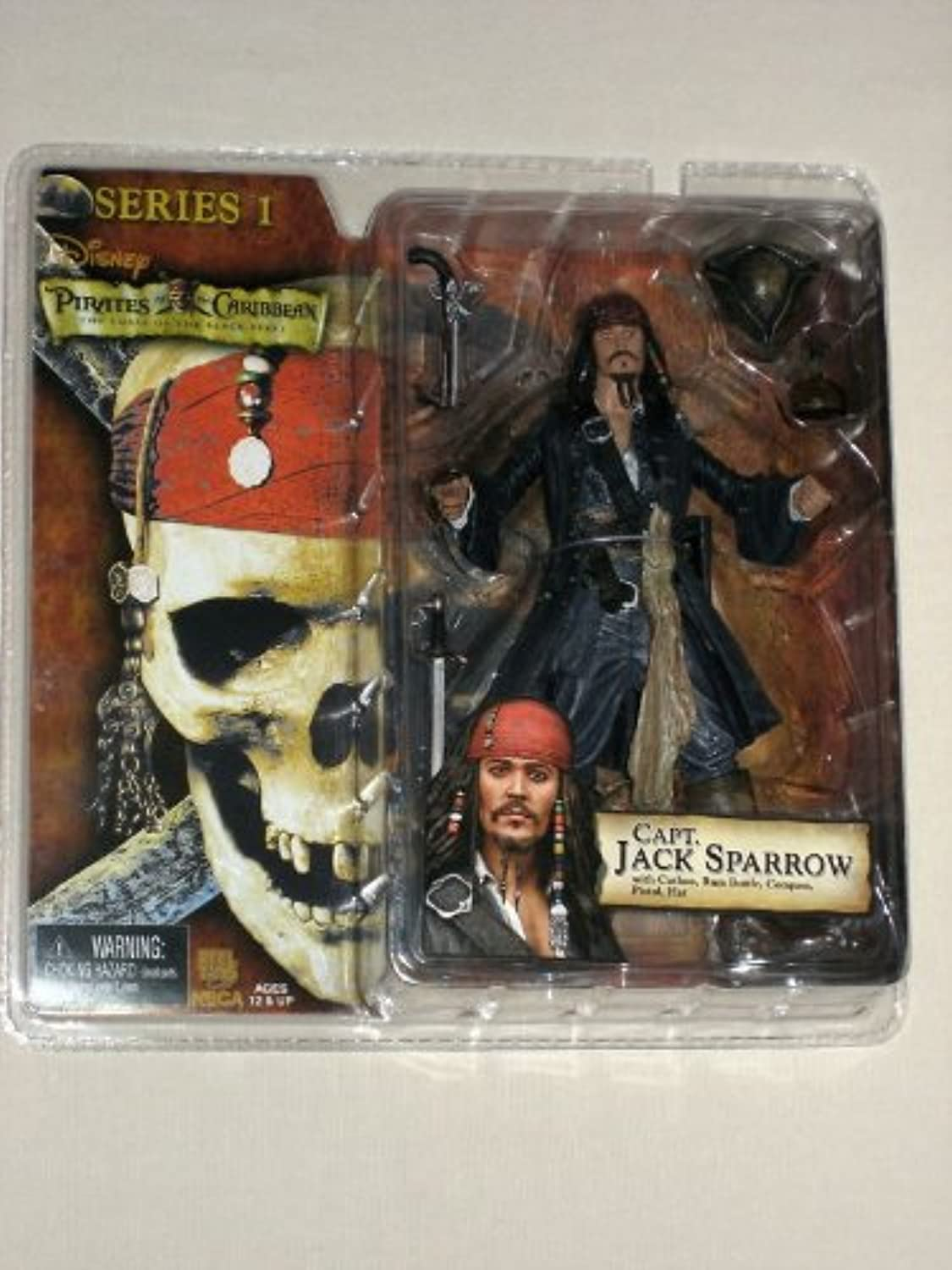 Captain Jack Sparrow  Pirates of the Caribean  6  Inch NECA