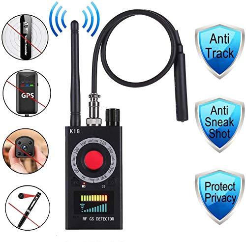 Wanzen-Detektor - Kamera-Detektor - Anti Spy RF-Signal-Detektor - versteckter Kamera-Detektor - GSM Listening Gerät Finder Radar Radio Scanner
