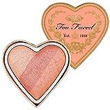 TOO de raso y corazones de la perfecto Flush Blush Peach playa