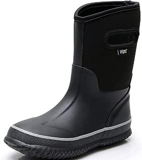 Kids Snow Boots Neoprene Boys Winter Warm Rubber Rain Boot