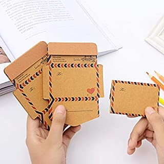 45 pcs/set Creative Vintage Paper Envelope Kraft Paper Envelopes for Invitations For Student School Office Gift Free Shipping