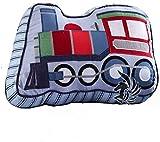 TEALP Almohadas para niños en forma de tren almohada acolchada decorativa para dormitorio de niños