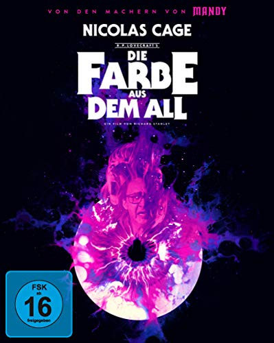Die Farbe aus dem All - Color Out of Space - Mediabook A (4K Ultra HD + 2 Blu-rays)