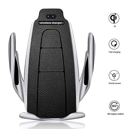 professionnel comparateur Chargeur de voiture sans fil à dégagement automatique Chargeur de voiture sans fil haute vitesse 10W / 7,5W / 5W… choix