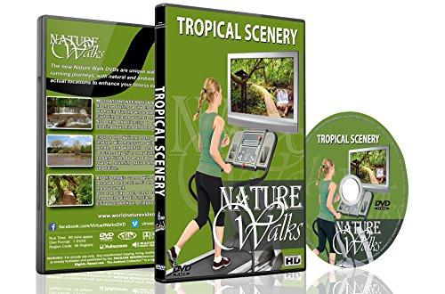 Natur Spaziergänge – Tropische Landschaften – Für Indoor Walking, Laufband und Radfahr Workouts