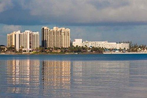 Posterazzi Bahamas New Providence Nassau Resort hotels Poster Print by Walter Bibikow (18 x 12)