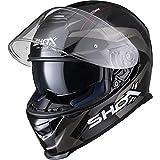 Best Motorcycle Helmets - Shox Assault Evo Sector Motorcycle Helmet L Grey Review