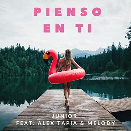 Junior, Alex Tapia & Melody Greco