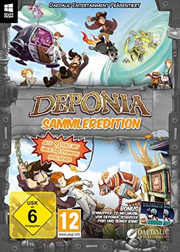 DEPONIA Sammleredition (alle 4 Teile in einer Edition)